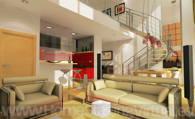 Home staging virtual trabajos - Lofts en madrid ...